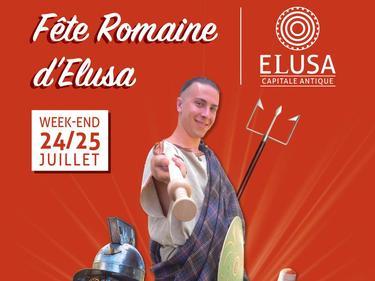 FETE ROMAINE D'ELUSA - 24/25 juillet