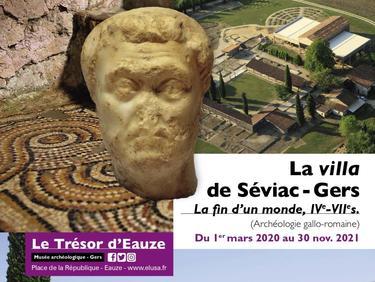 EXPOSITION TEMPORAIRE - La Villa de Séviac : la fin d'un monde