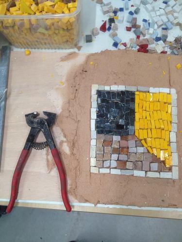 Focus sur la mosaïque - Les ateliers d'initiation à la mosaïque antique
