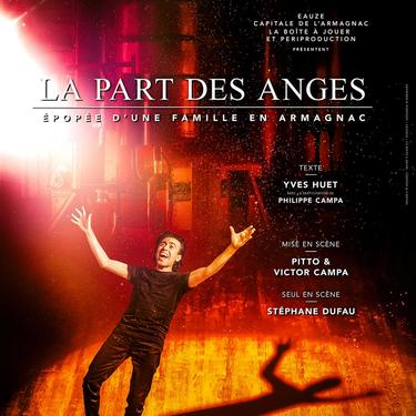 "SOIREE SPECTACLE ""LA PART DES ANGES"""
