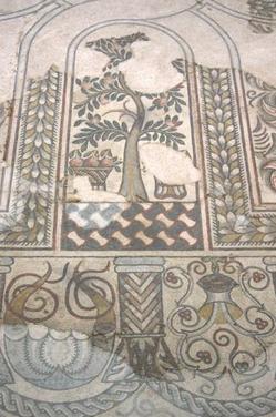 Mosaïque de la Villa de Loupian