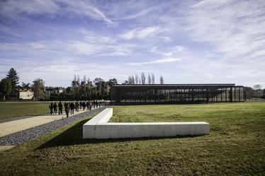 DOMUS© E.Charles Vue du parc du site archéologique de la Domus de Cieutat